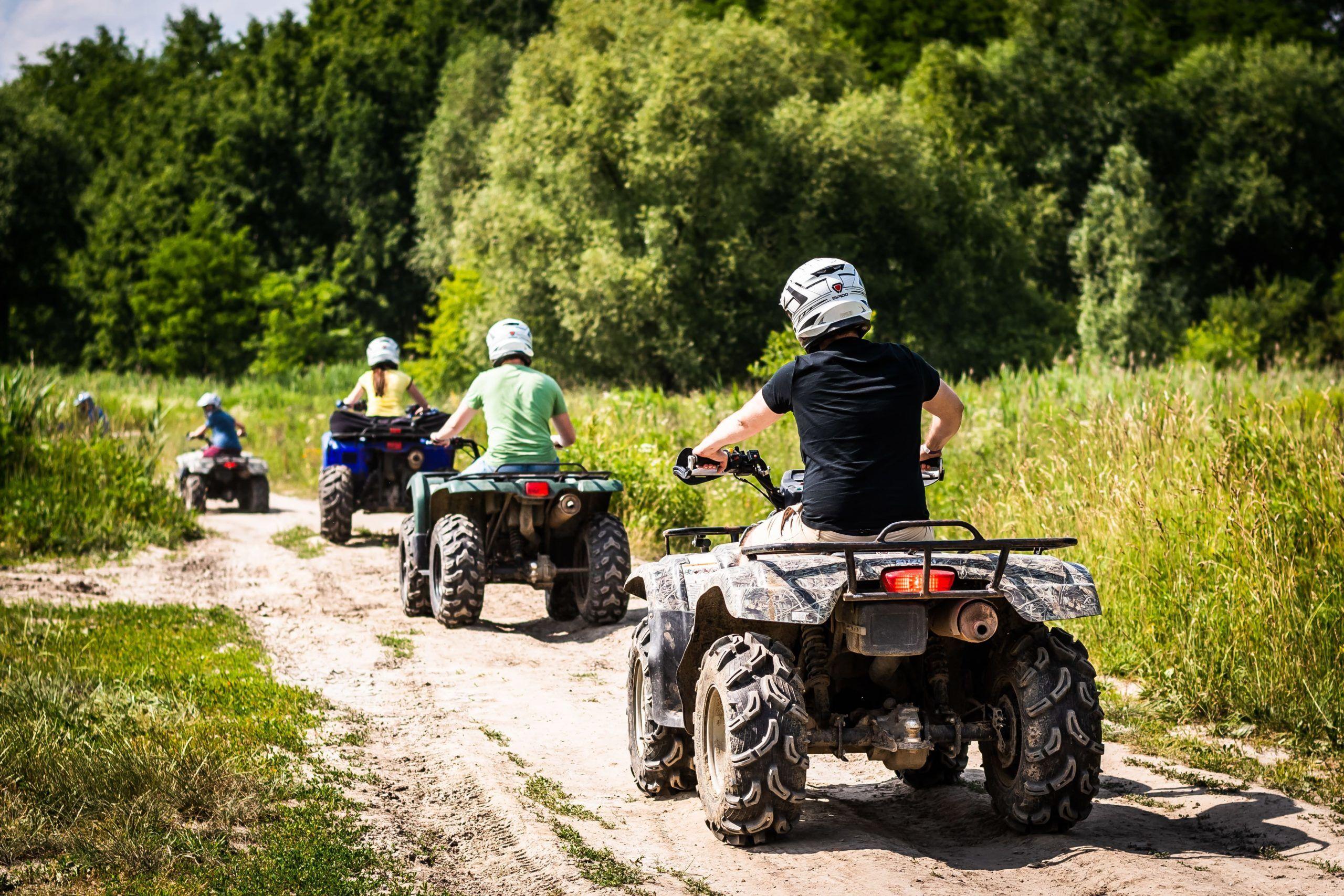 Quad Schnupper Tour Brandenburg - Geschenk Gutschein Quad fahren