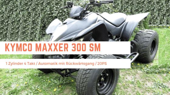Quadvermietung Brandenburg - Quad Kymco Maxxer 300 mieten